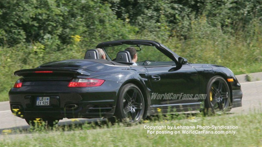 Spy Photos: More Porsche 997 Turbo Cabrio