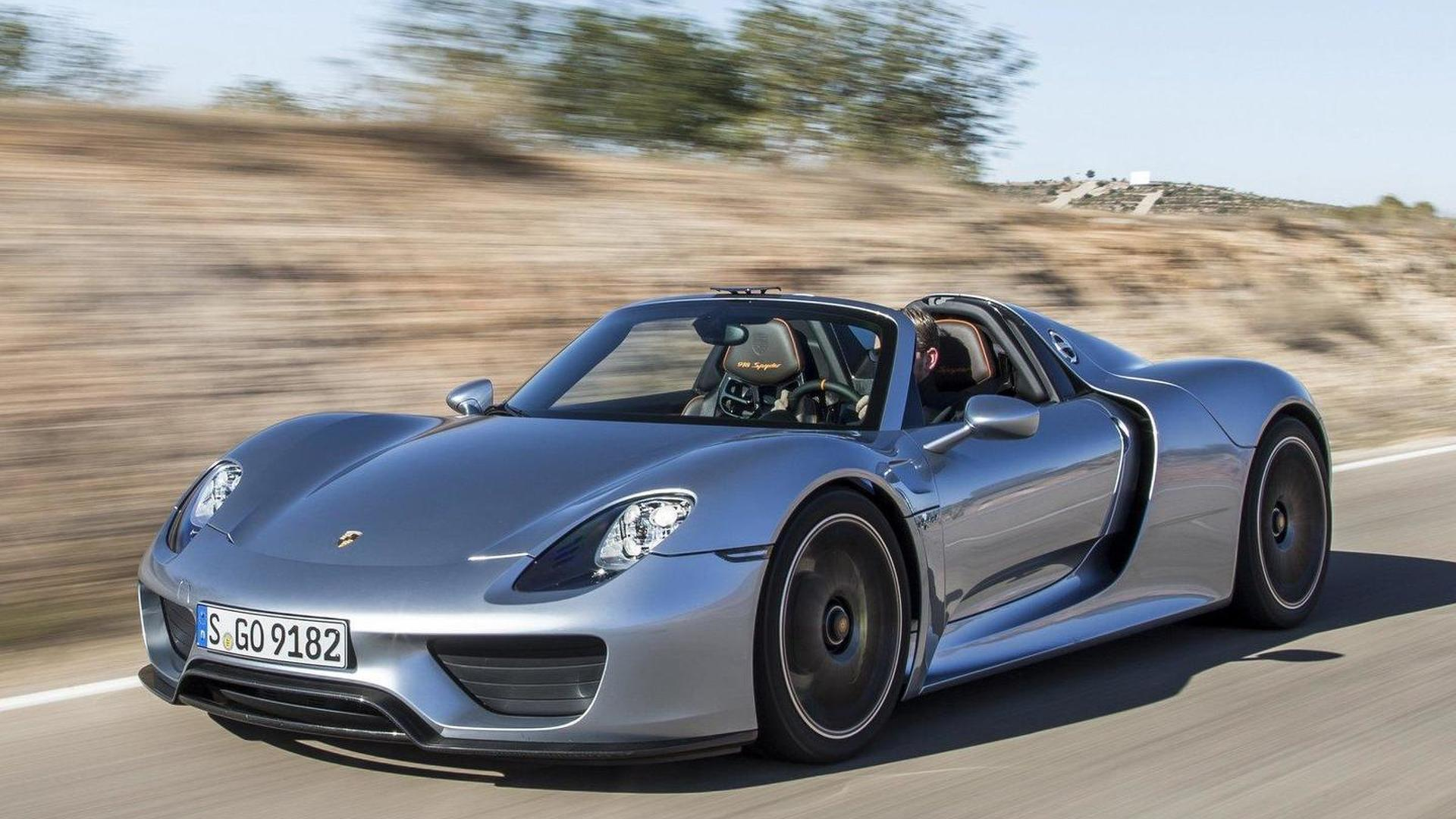 porsche 918 spyder sold out successor confirmed. Black Bedroom Furniture Sets. Home Design Ideas