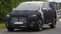 2016 Hyundai iX35 / Tucson spied near the Nürburgring