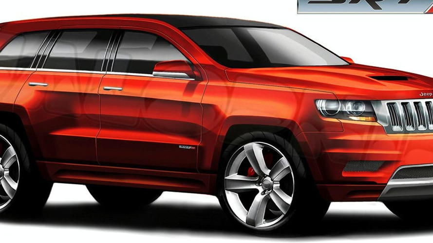 2012 Jeep Grand Cherokee SRT8 Sketch Leaks