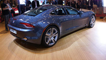 First factory built Fisker Karma unveiled in Paris