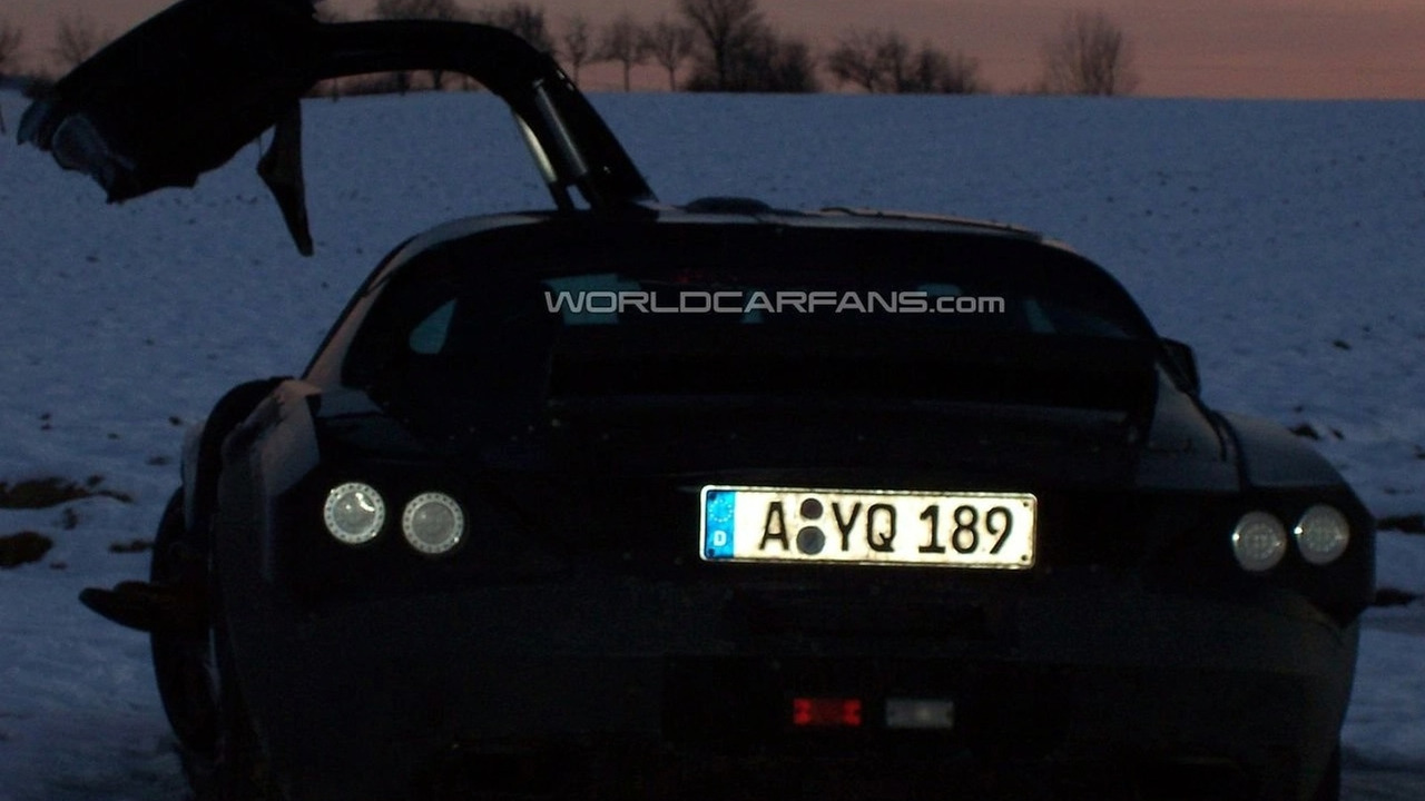 Mercedes-Benz SLC prototype spy photos