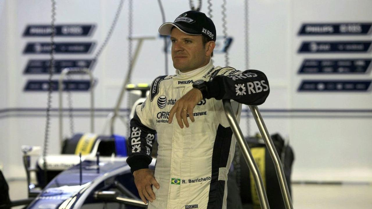 Rubens Barrichello, Williams, portrait, 22.10.2010