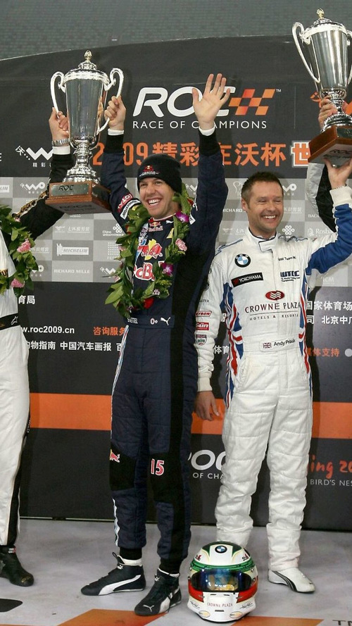 Vettel and Schumacher capture Nations Cup for Germany at Race of Champions in Beijing