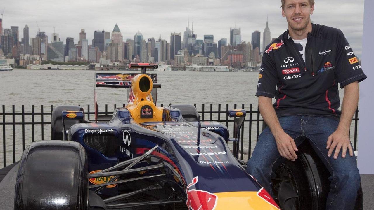 Sebastian Vettel  drives New Jersey Circuit 12.06.2012