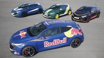 Renault Megane RS showcases Formula 1 livery