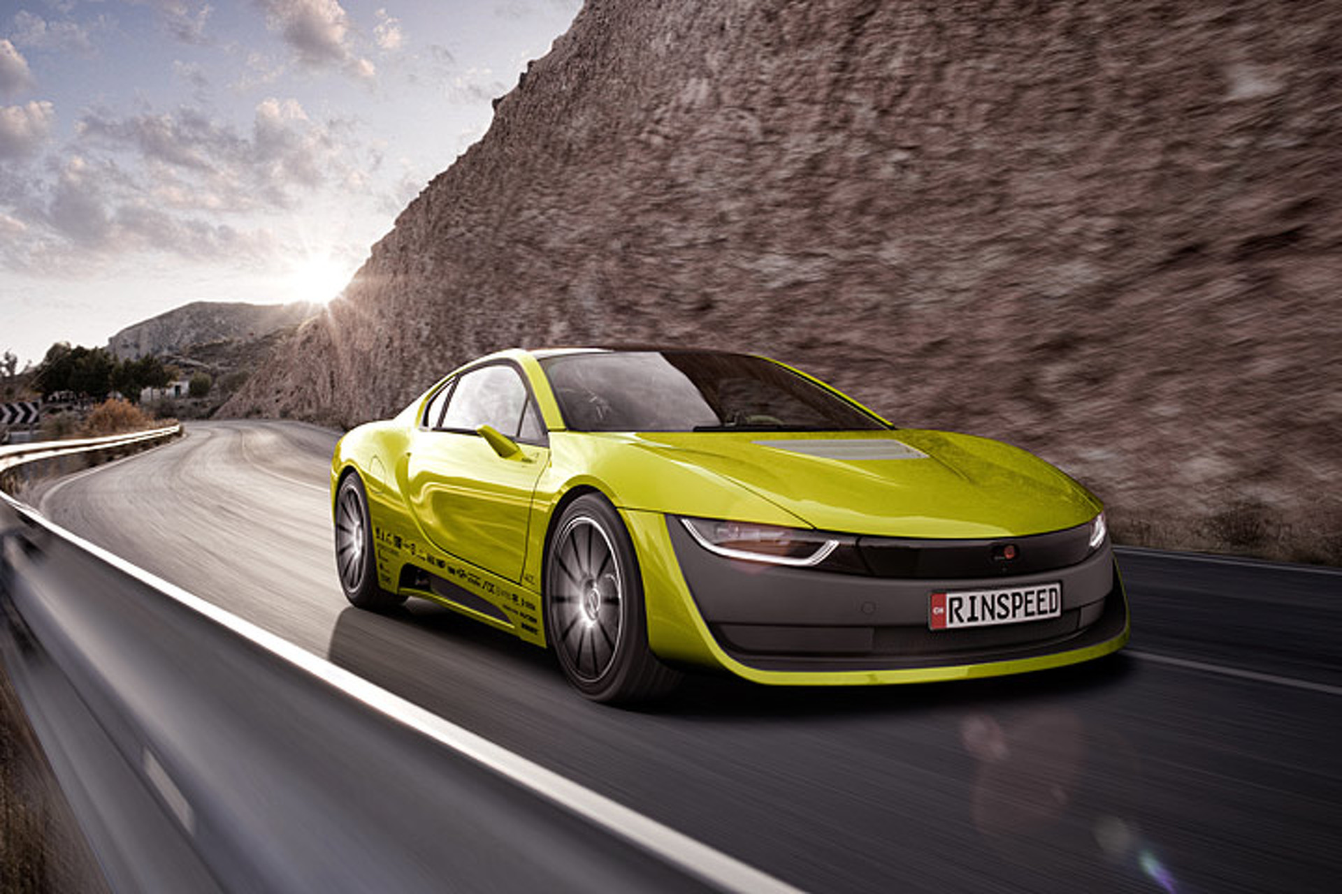 5 Things to Know About Rinspeed's Self-Driving BMW i8
