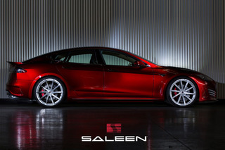 Saleen Overhauls Tesla Model S into FourSixteen: Pebble Beach