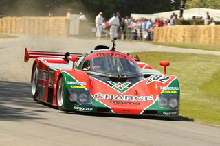 Rare Mazda 767B Racecar Crashes at Goodwood Festival of Speed