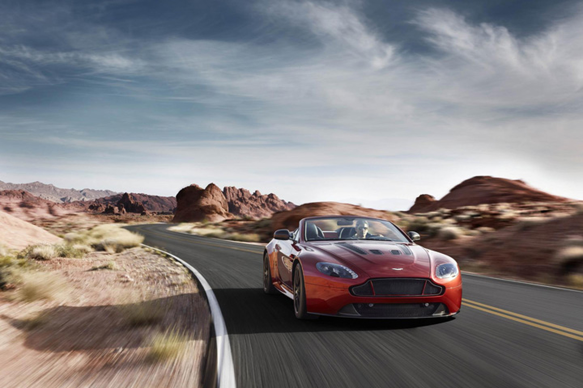 Dropped Top: Aston Martin Vantage S Roadster Unveiled