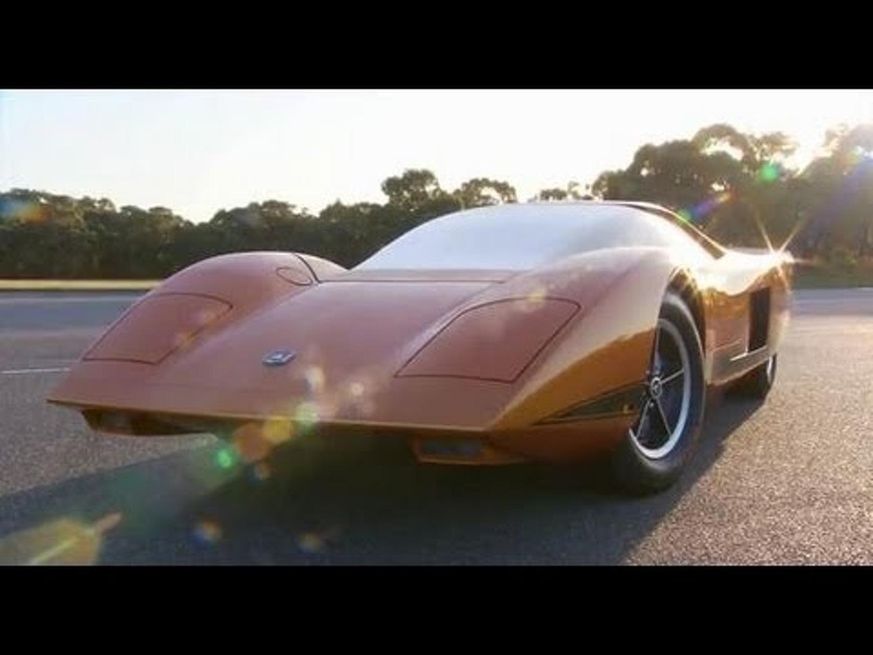 1969 Holden Hurricane concept car - restored 2011