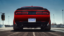 The 2018 Dodge Challenger SRT Demon's nearly 100-kg diet