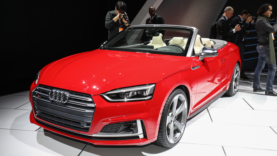 2018 Audi S5 Cabriolet is the sporty droptop for any season
