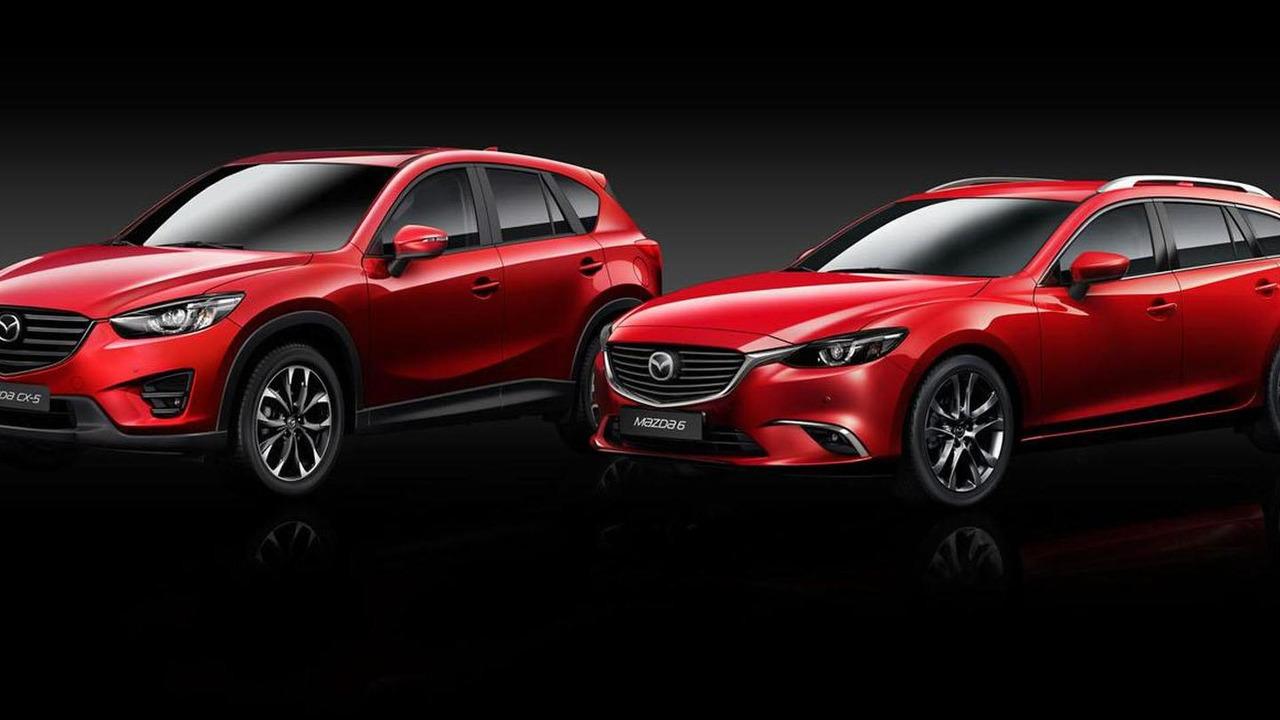 2015 Mazda6 and CX-5 (Euro-spec)