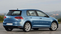 2017 Volkswagen Golf render