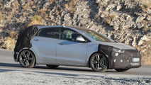 Hyundai i30 GT facelift spy photo