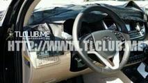 2016 Hyundai ix35 / Tucson spied in South Korea including interior pictures