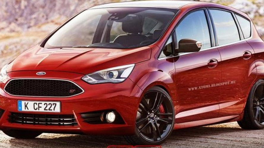 Ford C-MAX becomes an ST hot MPV in new renderings