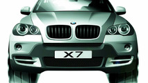 Modified BMW X5 sketch as X7