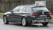 2014 BMW 5-Series Touring facelift spied again