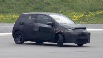 Next-gen Toyota Aygo spy photo 28.05.2013