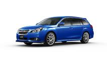 Subaru Legacy 2.5i tS gets the STI treatment [video]