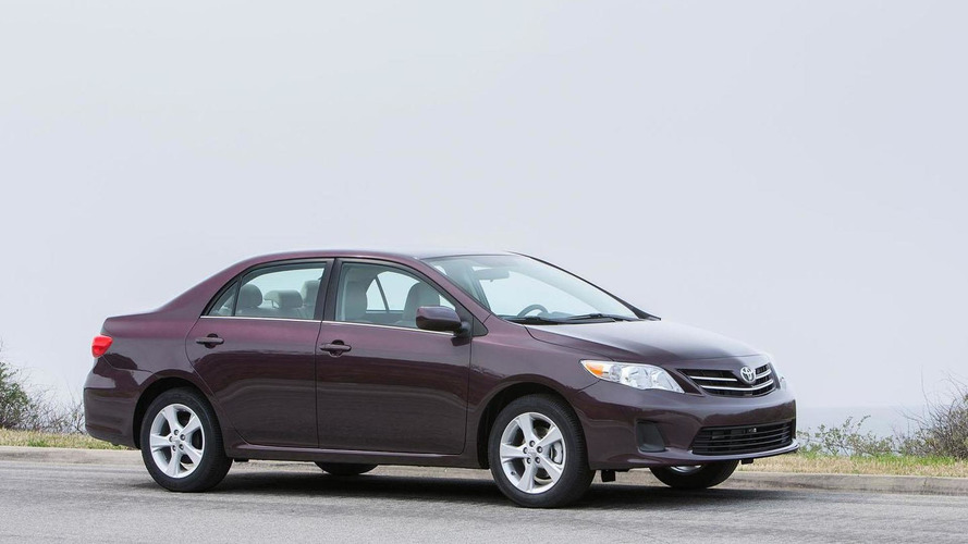 Toyota says Corolla was the best-selling nameplate last year