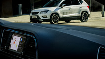 SEAT Ateca will help you find free parking spaces