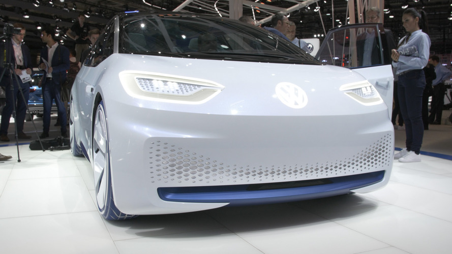 Video: Volkswagen ID electric Concept Car at the Paris Motor Show