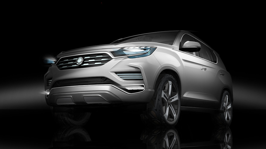 Ssangyong LIV-2 SUV concept previewed ahead of Paris debut