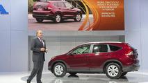 2012 Honda CR-V unveiled in L.A. [video]