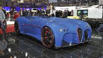 Wiesmann Spyder Concept live in Geneva - 01.03.2011