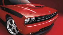 Dodge Challenger featuring a Mopar T/A Hood with scoop