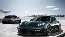 Mansory Panamera first illustrations