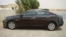 2010 Hyundai Sonata spy photo in Dubai