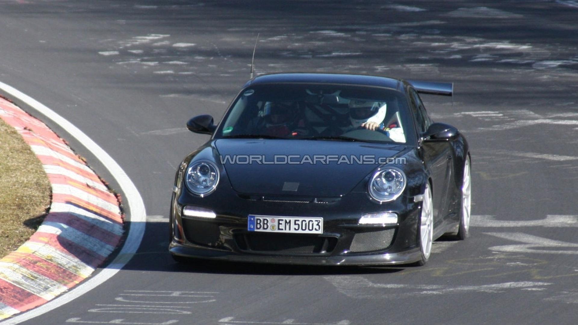New Porsche 911 (997) GT3 RS Facelift Spy Video