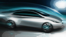 2013 Infiniti EV design sketch released