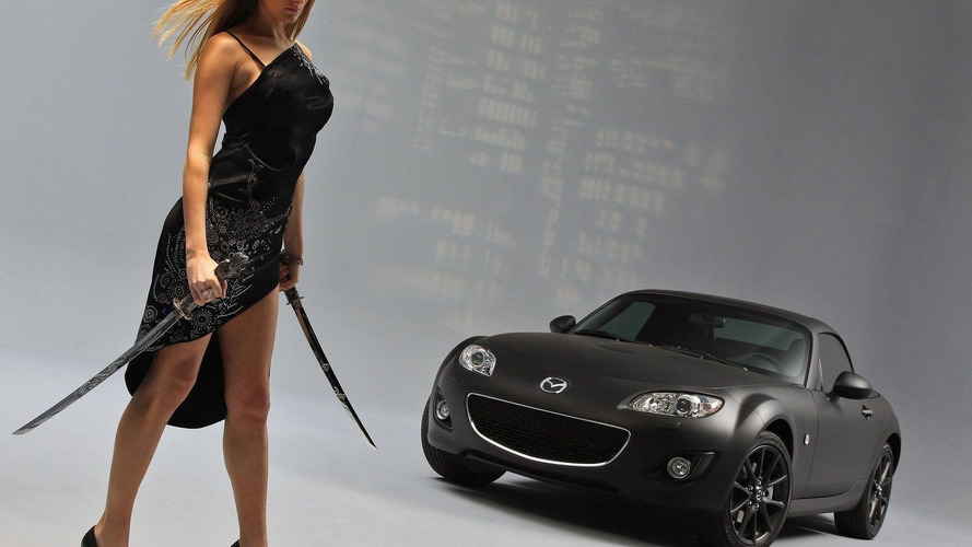 Mazda MX-5 Black & Matte Special Edition Will Chop Your Head Off