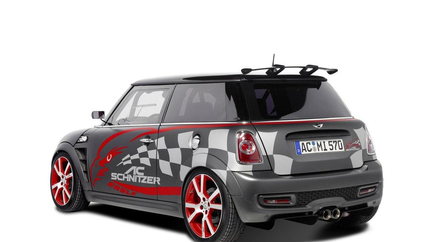 AC Schnitzer Eagle based on MINI John Cooper Works [video]