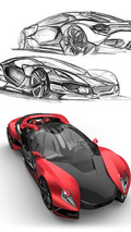Ferrari design contest entry - 19.7.2011