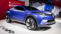 Toyota C-HR Concept live in Paris