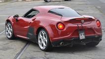 More powerful Alfa Romeo 4C Quadrifoglio Verde / Stradale spied for the first time