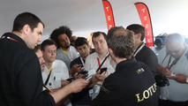Lotus LMP P1/01 unveiled at Le Mans