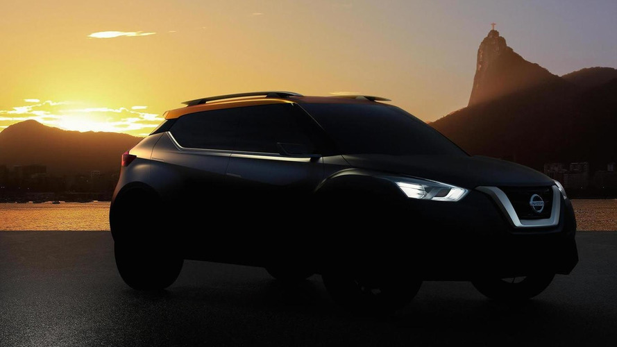 Nissan concept teased again ahead of Sao Paulo Motor Show debut