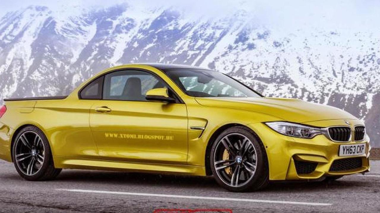 BMW M4 Pickup rendering / X-Tomi Design