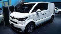 Volkswagen e-Co-Motion concept live in Geneva