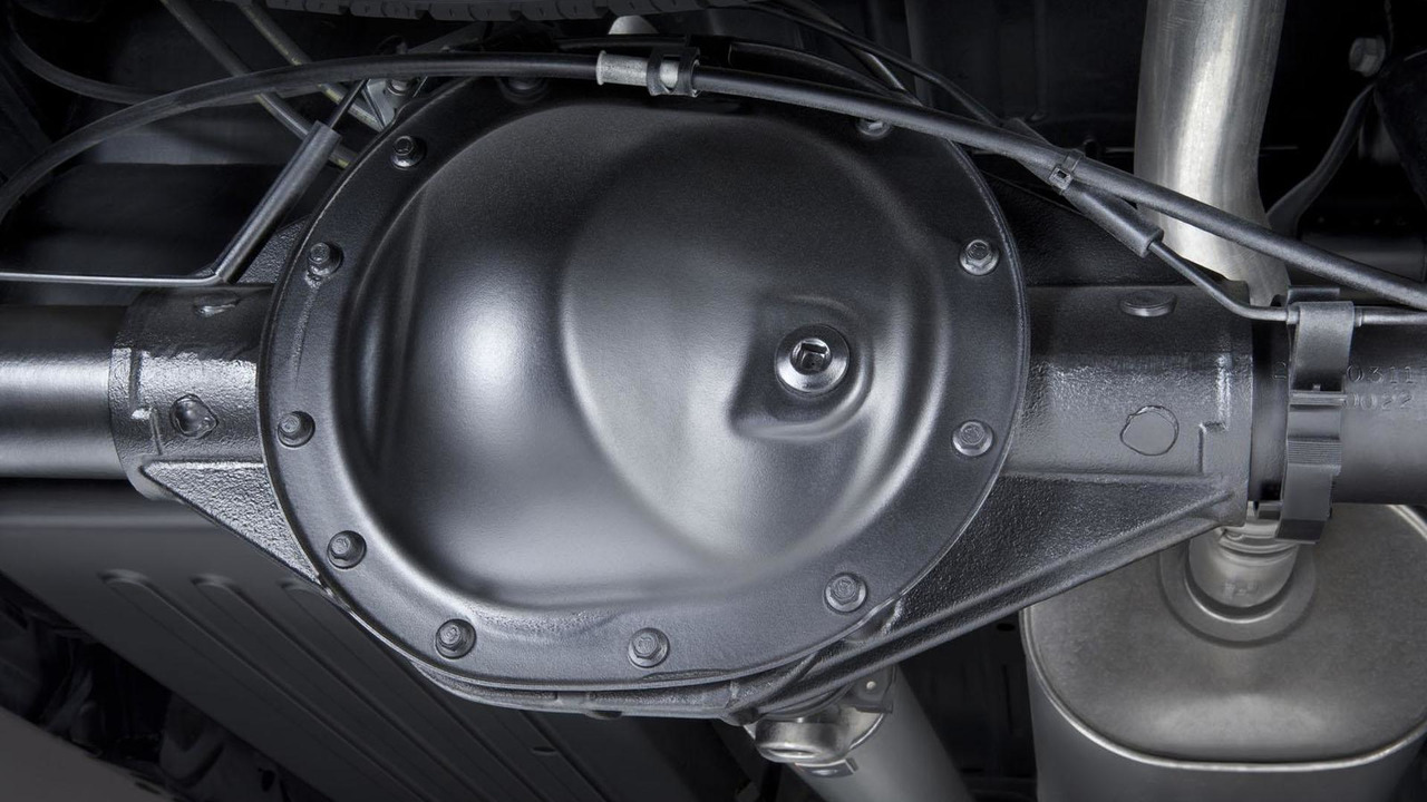 2014 Chevrolet Silverado and GMC Sierra rear axle 13.12.2012