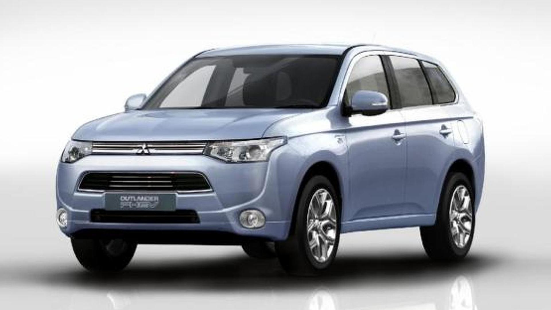 2016 Mitsubishi Outlander PHEV to feature revised styling & upgraded interior