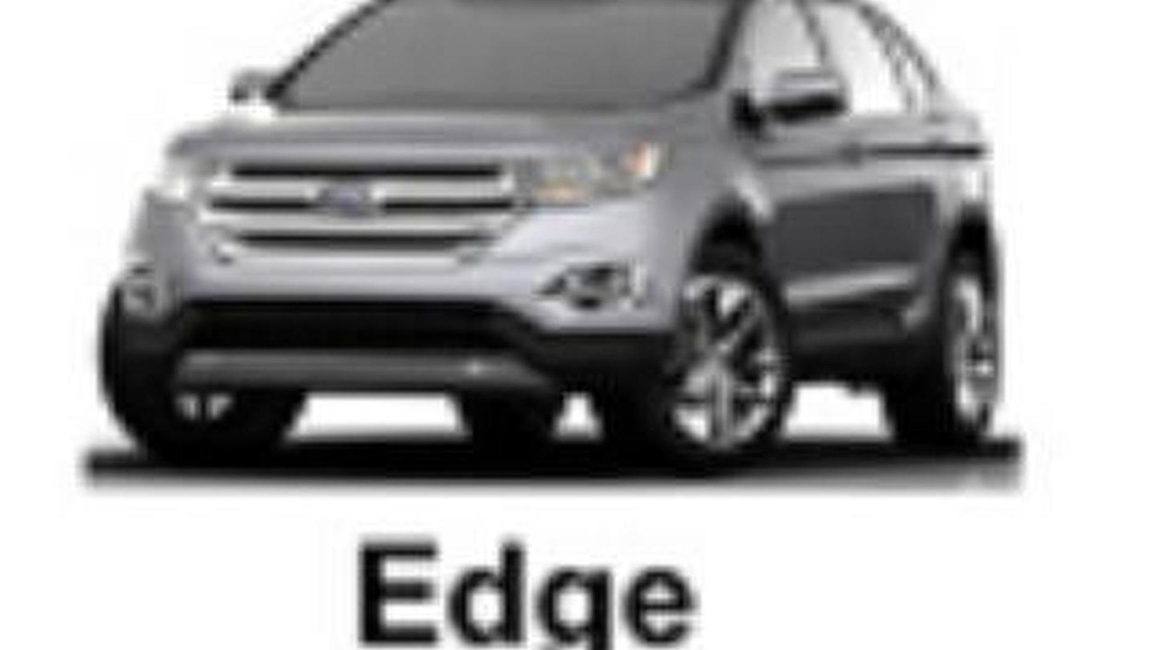 Next-Generation Ford Edge leaked image?