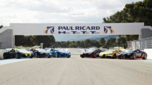Bugatti track day at the Paul Ricard Circuit 05.6.2013